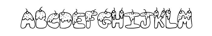 TastySundae Font LOWERCASE