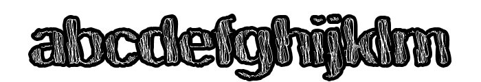 TastySwirl Font LOWERCASE