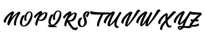 Tastysushi Font UPPERCASE