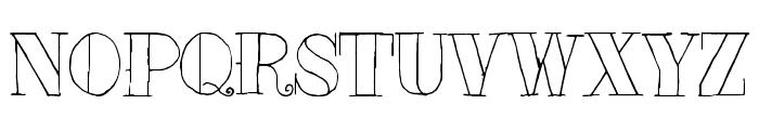 Tat Style Font UPPERCASE
