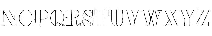 Tat Style Font LOWERCASE