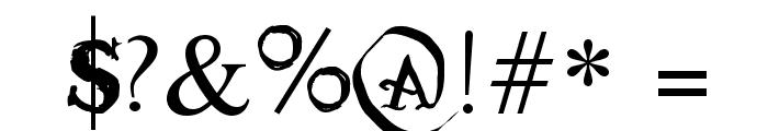Tatoo Sailor Font OTHER CHARS