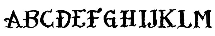 Tatoo Sailor Font UPPERCASE