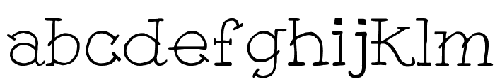 Tattoo GirlFW Font LOWERCASE