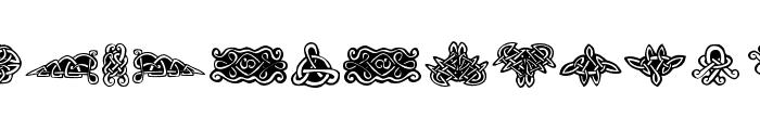 Tattoo No1 Font UPPERCASE