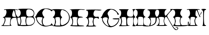 TattooParlor Font UPPERCASE