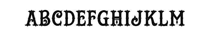 TattooShop Font UPPERCASE