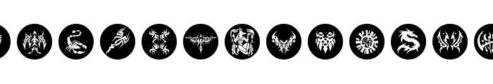 Tattoolike Font LOWERCASE