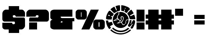 Tauro Regular Font OTHER CHARS