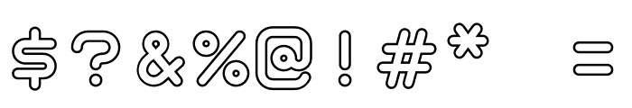 TaurusMonoOutline-Bold Font OTHER CHARS