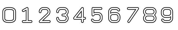 TaurusMonoOutline Font OTHER CHARS