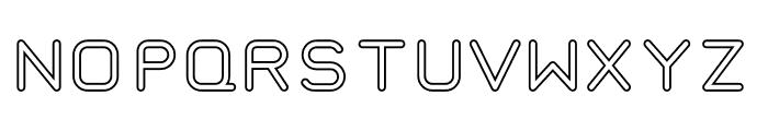 TaurusMonoOutline Font UPPERCASE