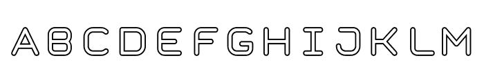 TaurusMonoOutline Font LOWERCASE