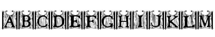 Tavern Doors Font UPPERCASE