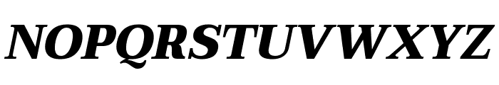 Taviraj Black Italic Font UPPERCASE