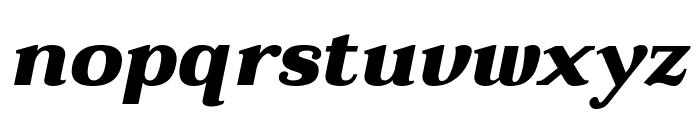 Taviraj Black Italic Font LOWERCASE