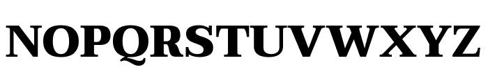 Taviraj Black Font UPPERCASE