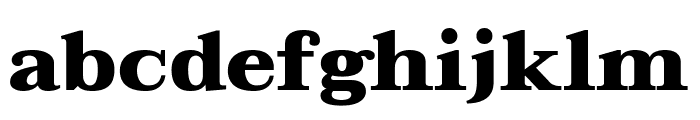 Taviraj Black Font LOWERCASE