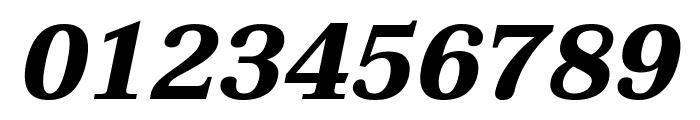 Taviraj Bold Italic Font OTHER CHARS