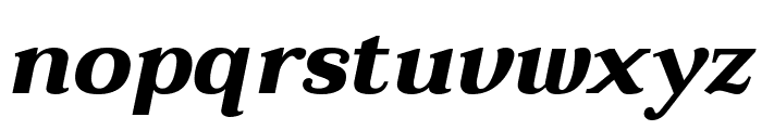 Taviraj Bold Italic Font LOWERCASE
