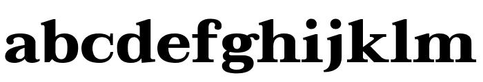 Taviraj Bold Font LOWERCASE