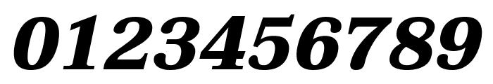 Taviraj ExtraBold Italic Font OTHER CHARS