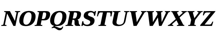 Taviraj ExtraBold Italic Font UPPERCASE