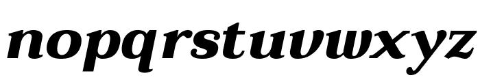 Taviraj ExtraBold Italic Font LOWERCASE
