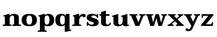 Taviraj ExtraBold Font LOWERCASE