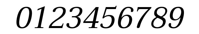 Taviraj Italic Font OTHER CHARS