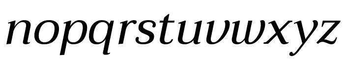 Taviraj Italic Font LOWERCASE