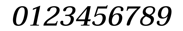 Taviraj Medium Italic Font OTHER CHARS