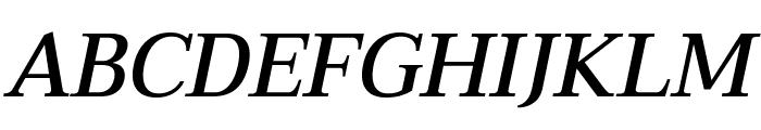 Taviraj Medium Italic Font UPPERCASE