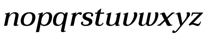 Taviraj Medium Italic Font LOWERCASE