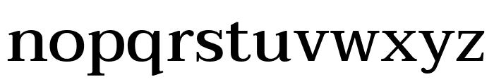 Taviraj Medium Font LOWERCASE