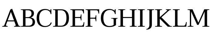 Taviraj Regular Font UPPERCASE
