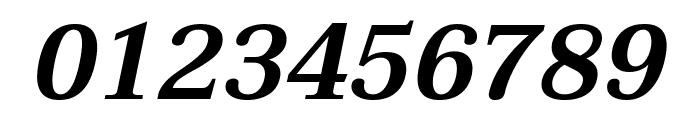 Taviraj SemiBold Italic Font OTHER CHARS