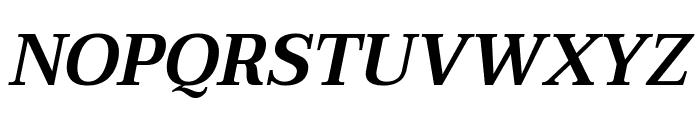 Taviraj SemiBold Italic Font UPPERCASE