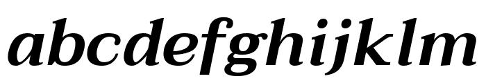 Taviraj SemiBold Italic Font LOWERCASE