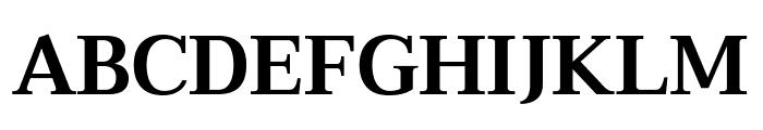 Taviraj SemiBold Font UPPERCASE