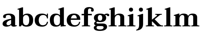 Taviraj SemiBold Font LOWERCASE