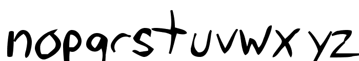 Tawattype Bloch Font LOWERCASE