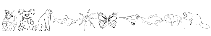 Taxonomic Font OTHER CHARS