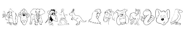 Taxonomic Font LOWERCASE