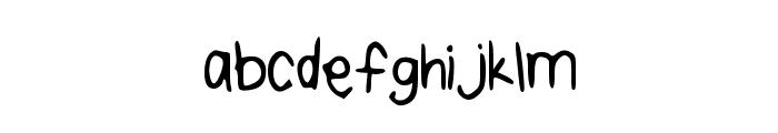 TaylorSHandwriting Font LOWERCASE