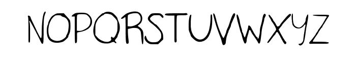 TaylorScript Font UPPERCASE