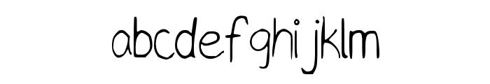 TaylorScript Font LOWERCASE