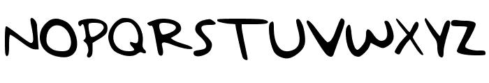 TaylorSwiftHandwriting Font UPPERCASE