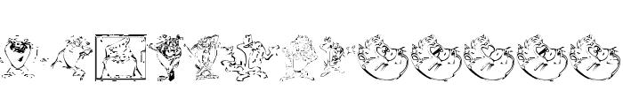 TazTheDevil Font LOWERCASE