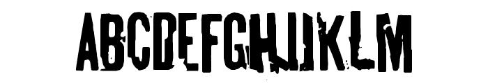 tablhoide Font UPPERCASE